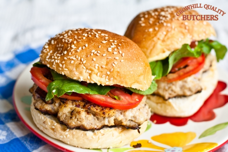 PORK - APPLE BURGER