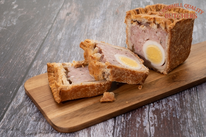 6LB GALA PORK PIE WITH EGG